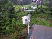 Weather station and mobile broadband antennae